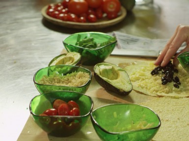 healthy burritos for the whole family