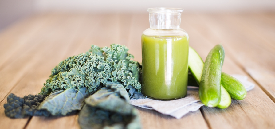 green veggie juice