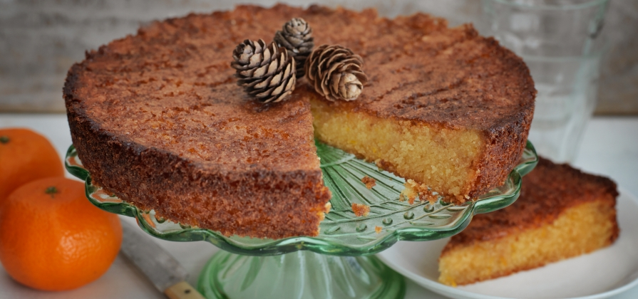 almond orange cake