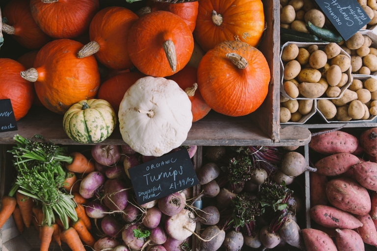 daylesford farm fresh vegetables