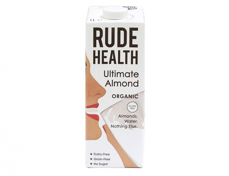Rude Health almond milk