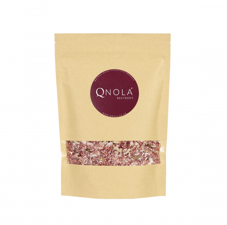 Qnola Beetroot Quinoa-Based Superfood Granola