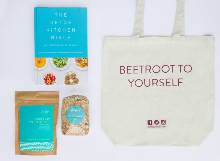 The Detox Kitchen Bag Book and Products