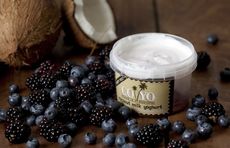 CoYo mixed berry coconut yoghurt