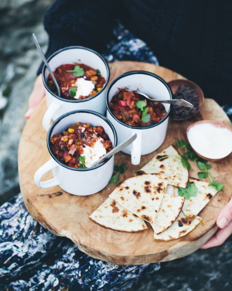 Chocolate Bean Chilli by Green Kitchen Stories