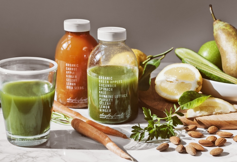 daylesford farm coldpress juices