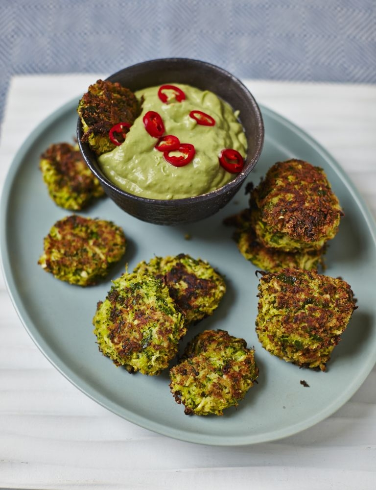 Hemsley & Hemsley broccoli fritters