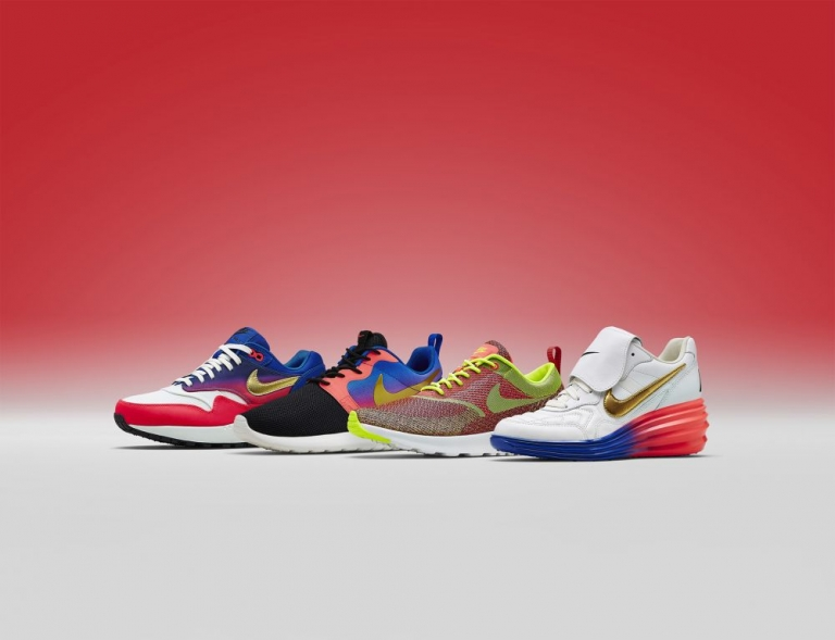 selection of nike trainers