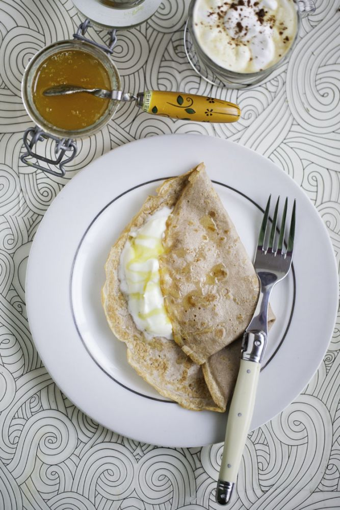 Chestnut flour pancakes hemsley and hemsley