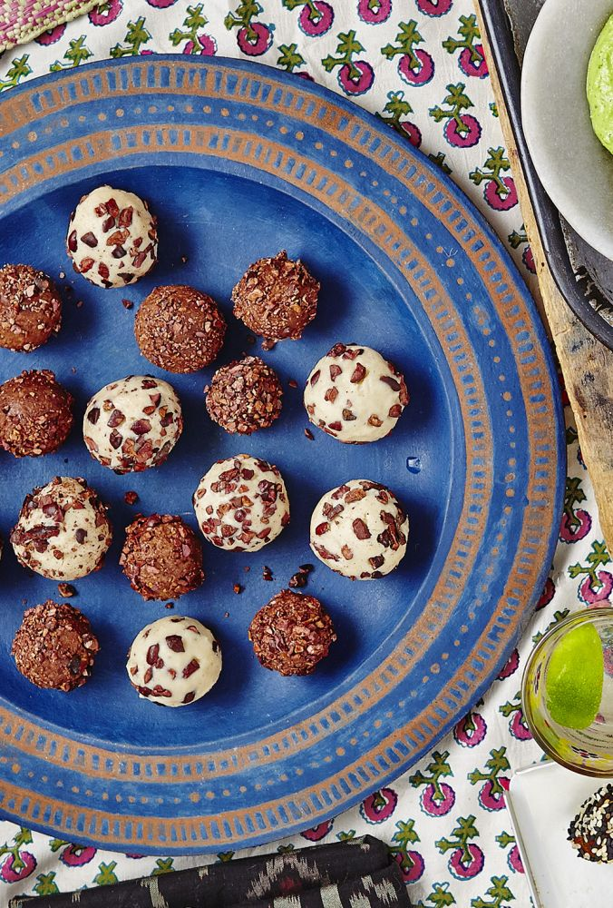 tahini bliss balls