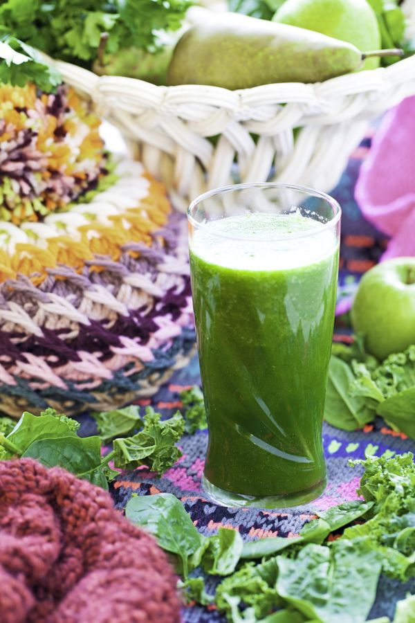 homemade winter green smoothie hemsley and hemsley