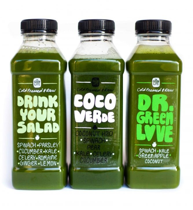 The Good Life Eatery Drink Your Salad green juices