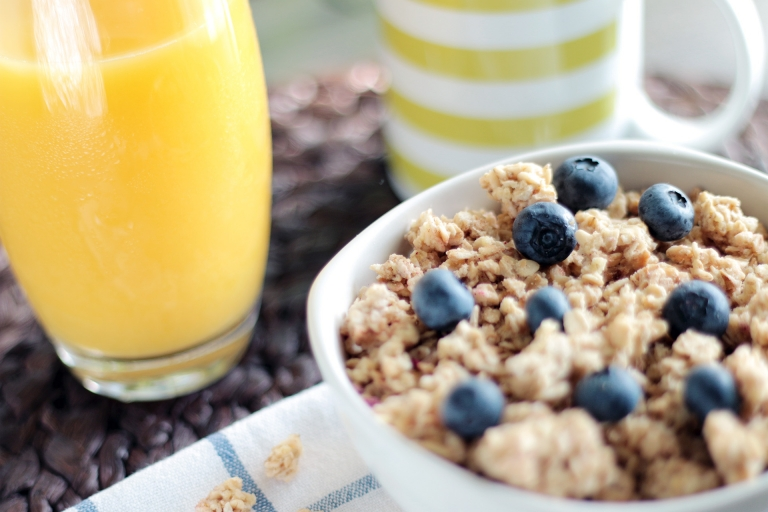 healthy morning breakfast oats cereals