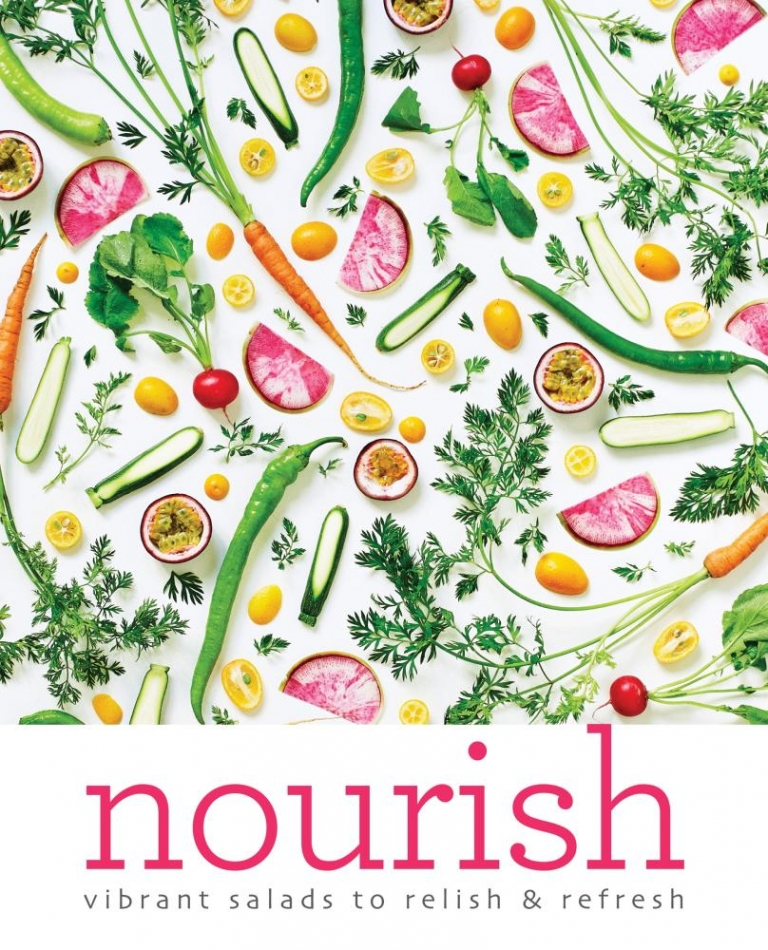 nourish vibrant salads by amber locke raw vegan blonde
