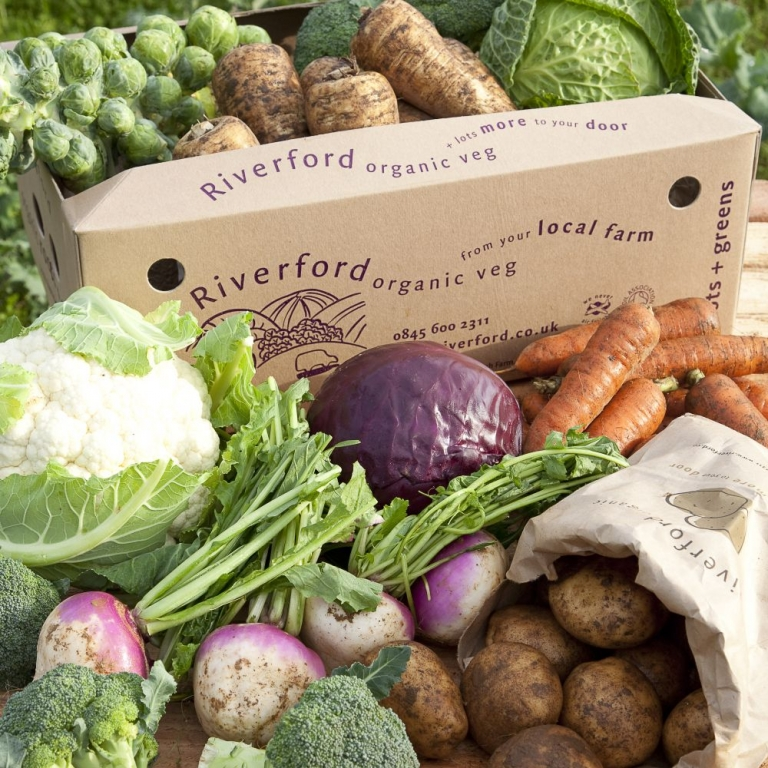 riverford vegetable box