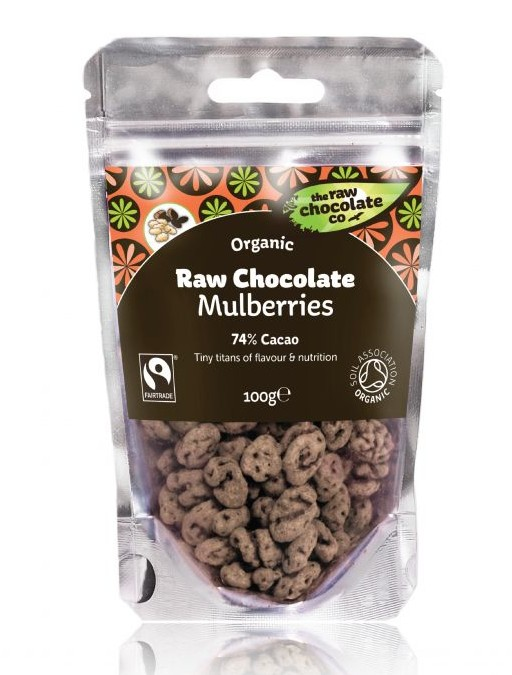 the raw chocolate co covered mulberries