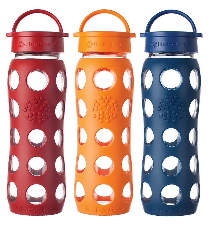Lifefactory classic water bottles