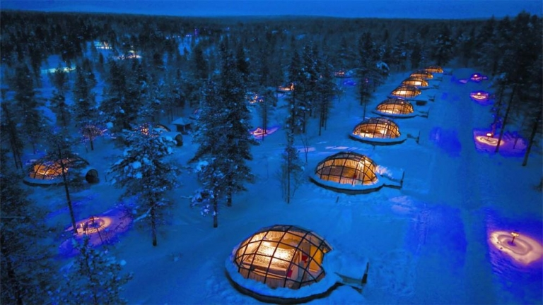 Kakslauttanen Artic Resort