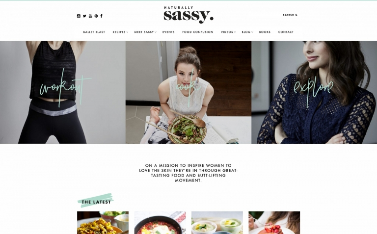Naturally Sassy blog
