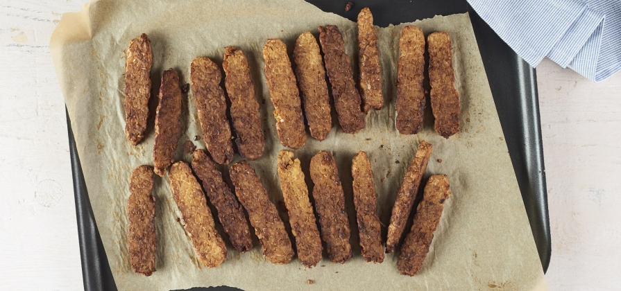 savoury marinated tempeh