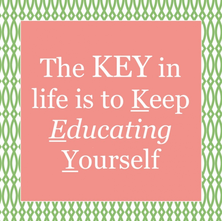 key to life quote
