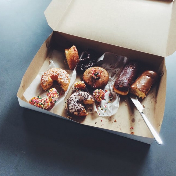 box of doughnuts