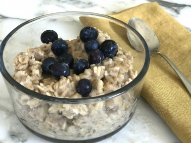 warming cinnamon power porridge